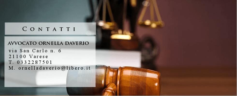 avvocato daverio