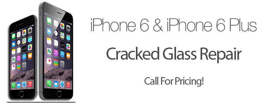 cracked glass repair for iPhones