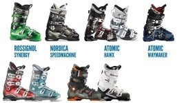 noleggio scarponi da sci