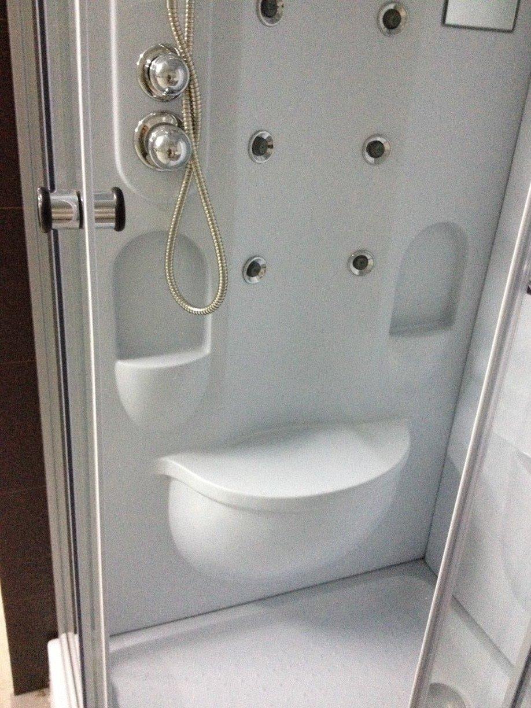 cabina doccia con seduta