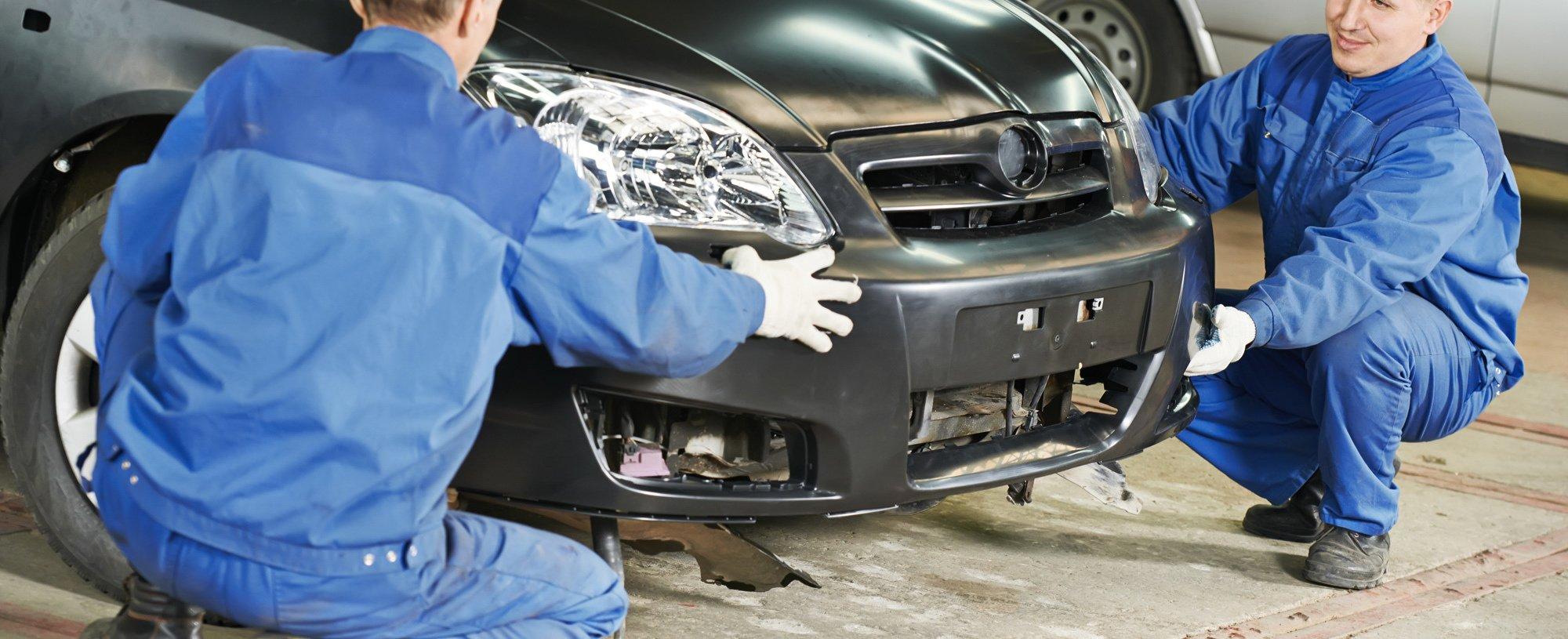 Automobile maintenance in a friendly auto body repair shop in Canton, GA