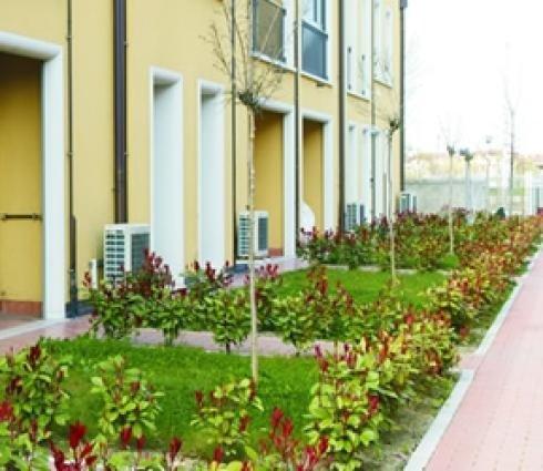 Appartamenti con giardinetto