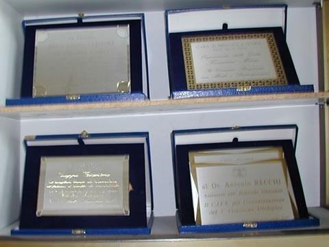 targhe e premiazioni
