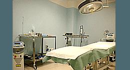 Sala laser, Sala chirurgia, Sala ecografia-ecocolodoppler