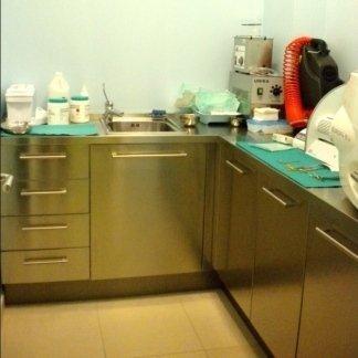 Sala laser, Sala chirurgia, Sala ecografia-ecocolodoppler, Sala di sterlizzazione