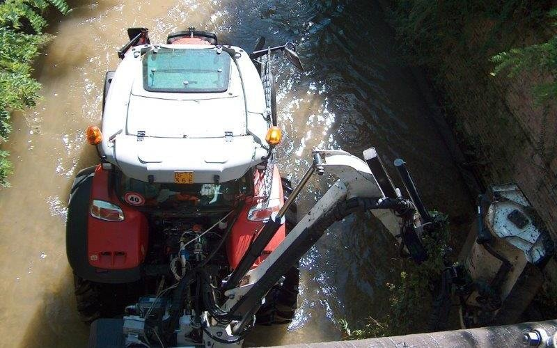 pulitura fiume
