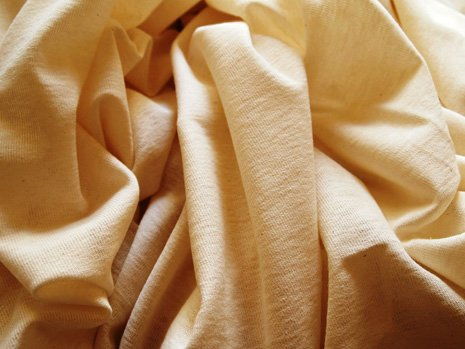 Una stoffa di color panna
