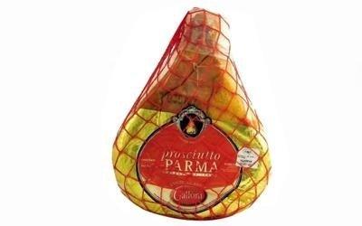un trancio di prosciutto di Parma