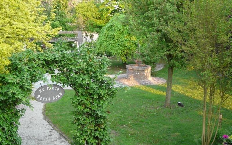 Vista Parco delle Rose - Ristorante LA STALLA