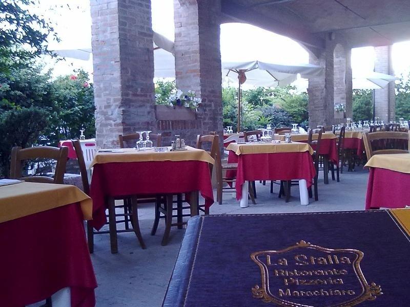 Outdoor area LA STALLA