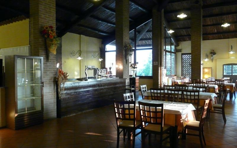 Sala ristorante La stalla - Porotto