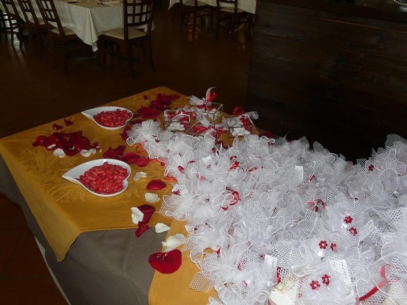 Tavolo bomboniere - Ristorante LA STALLA - Ferrara