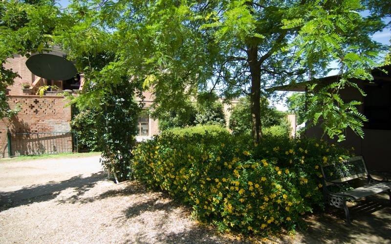 Vegetazione giardino Ristorante LA STALLA