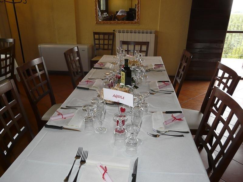 Tavolo invitati - Ristorante LA STALLA