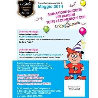 Animation children - Ristorante Pizzeria LA STALLA