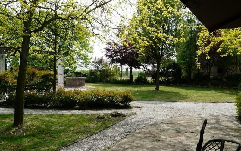 Parco del ristorante LA STALLA - Ferrara