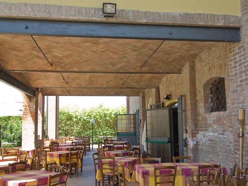 Spazio esterno Ristorante Pizzeria LA STALLA