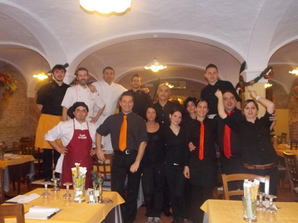 Staff ristorante la stalla ferrara