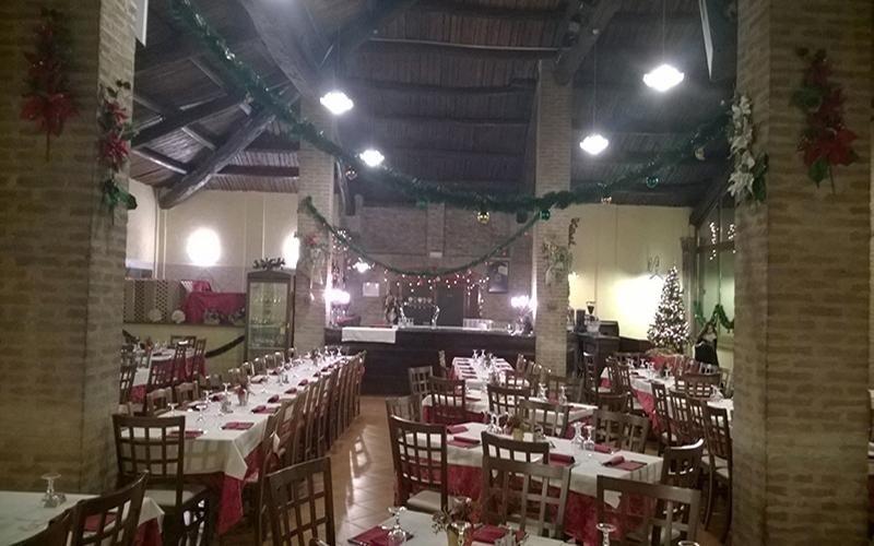 Locale per festeggiamento Natale