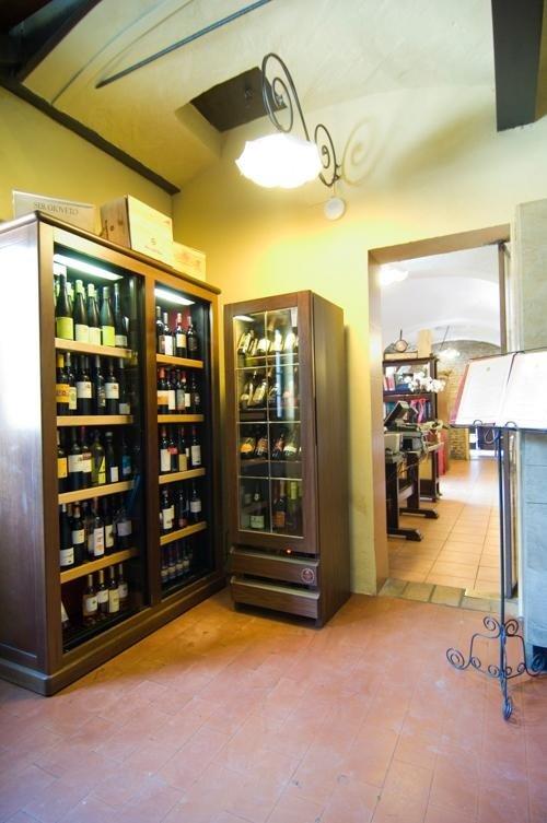 Wine area - Restaurant LA STALLA