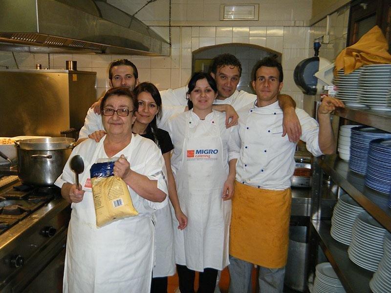 Staff cucina - Ristorante pizzeria LA STALLA
