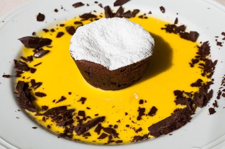 Tortino al cioccolato - Ristorante LA STALLA Ferrara