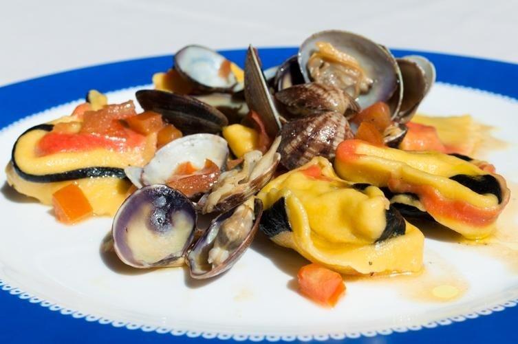 Tortelli di pesce - Ristorante LA STALLA - Ferrara