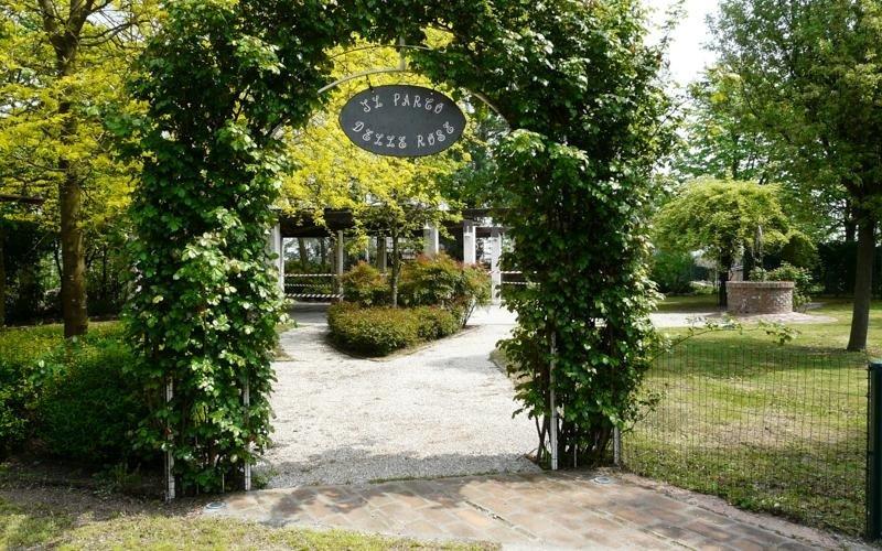 Garden entrance - Restaurant LA STALLA