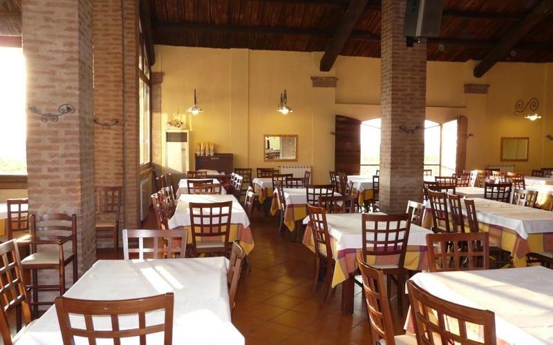 Accesso sala ristorante La stalla