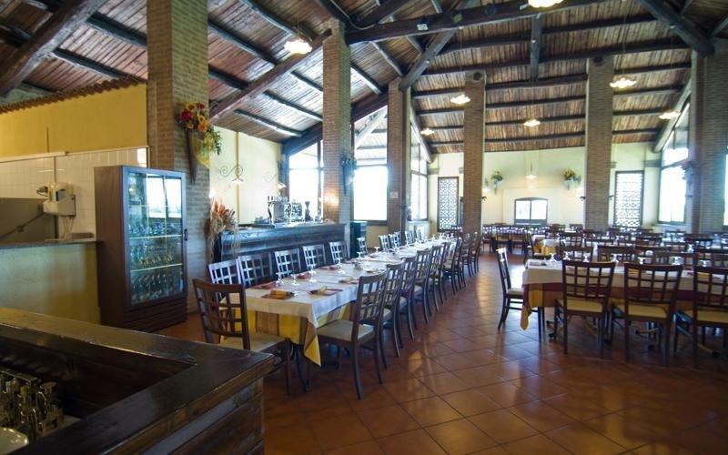 Vista accesso salone Ristorante pizzeria Marechiaro