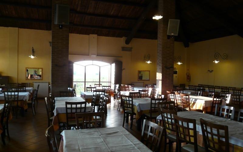 Sala ristorante La stalla - Ferrara