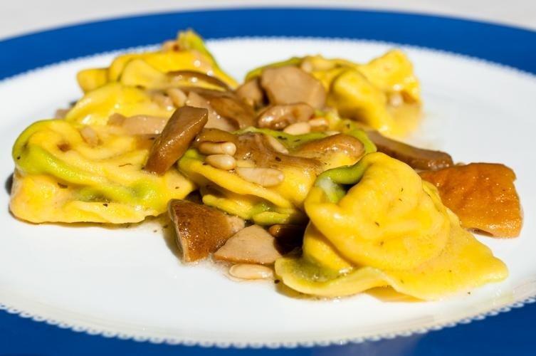 Pasta fresca ai funghi - Ristorante LA STALLA