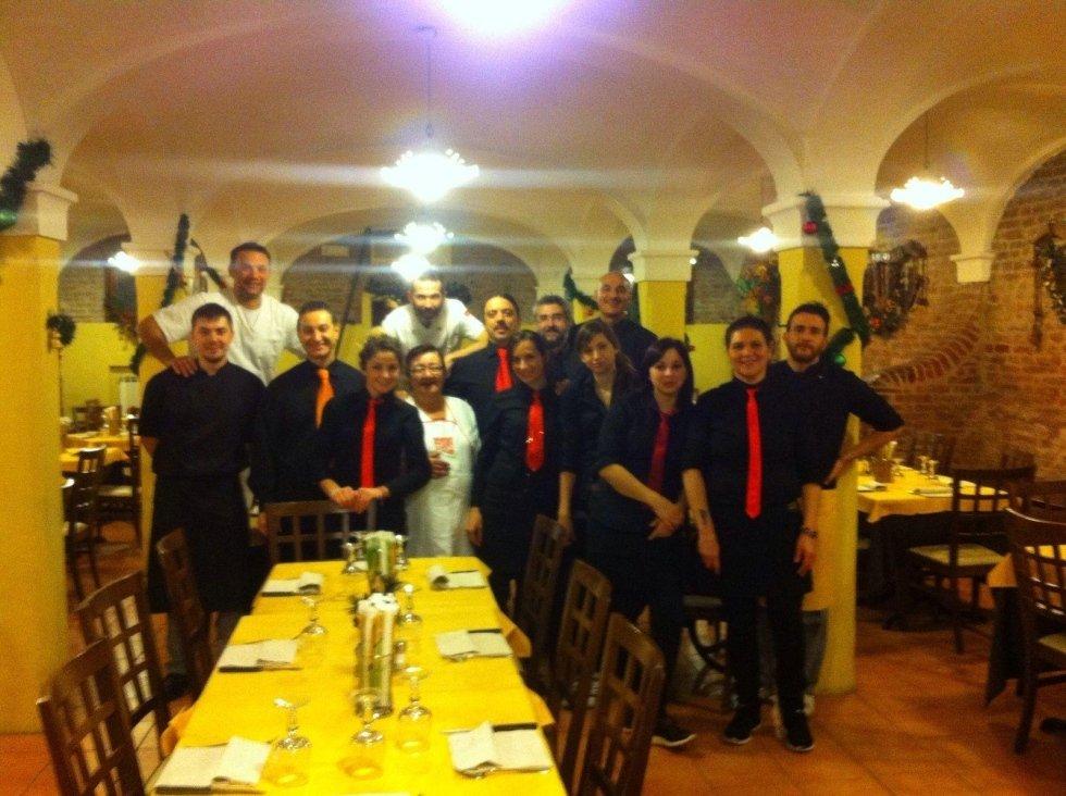 Staff ristorante capodanno 2015