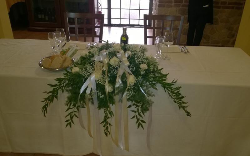 Wedding table - Restaurant Ferrara cuisine  LA STALLA