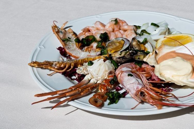 Antipasti di pesce - Ristorante LA STALLA - Ferrara