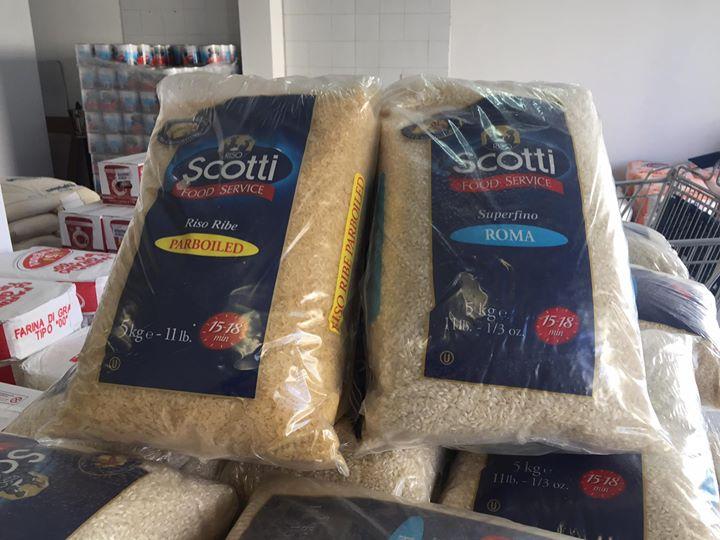pacchi di riso