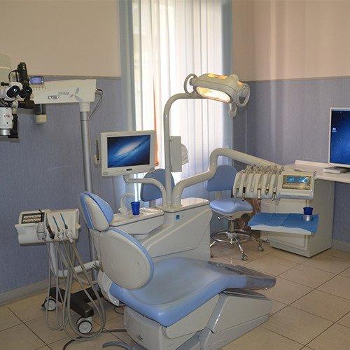 riunito all'interno dello studio odontoiatrico
