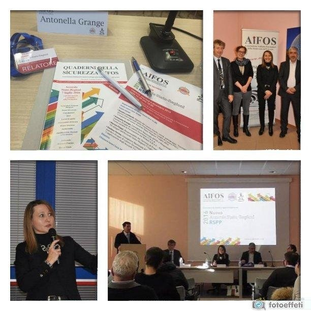 Antonella Grange convegno RSPP Trento