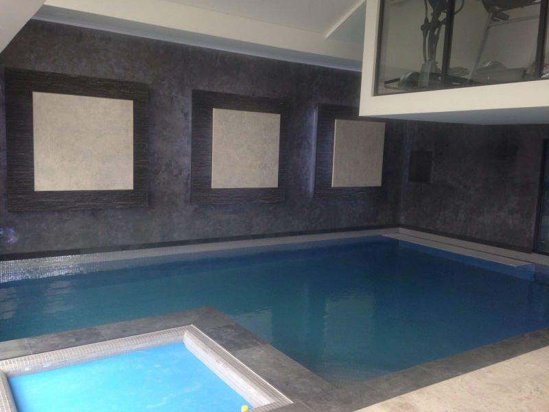 venetian plastery interior minimalist pool