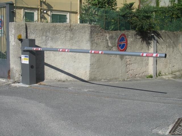 Barriere automatiche acciaio