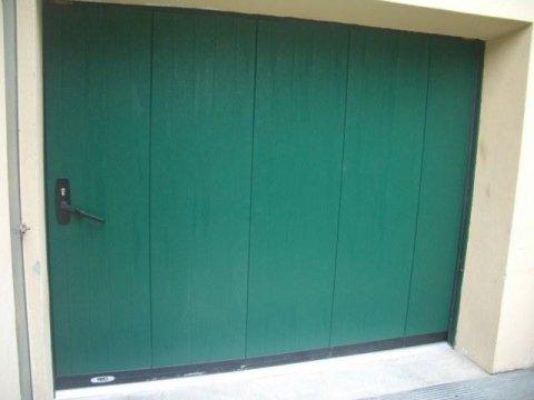 Porte box basculanti laterali