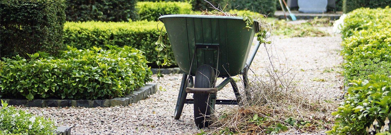 carriola da giardino