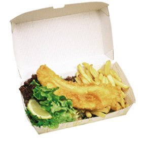 Fish and chips - Wirral, Merseyside - Village Fryers -  takeaway