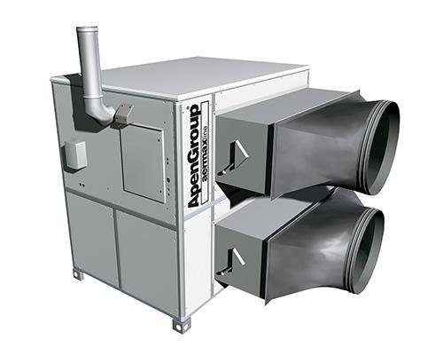 Apen Group - Generatore aria calda monoblocco AH SPORT da Termotecnica Monzese