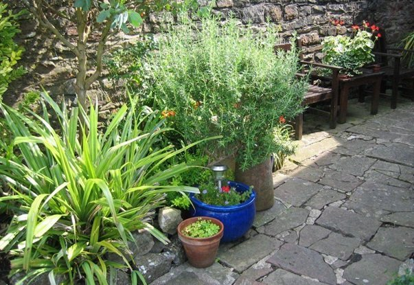 The Moda House  B&B Garden in Chipping Sodbury, Bristol