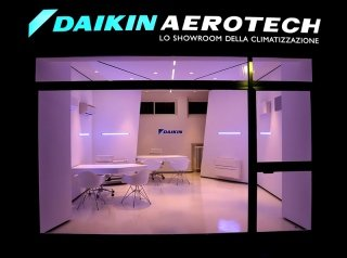 showroom della climatizzazione
