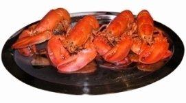 astici fresche, pesce di qualità, ristorante