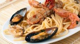 spaghetti di mare, cucina di mare, primi di mare