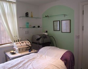 Beauty treatment room at Venus Hair and Beauty