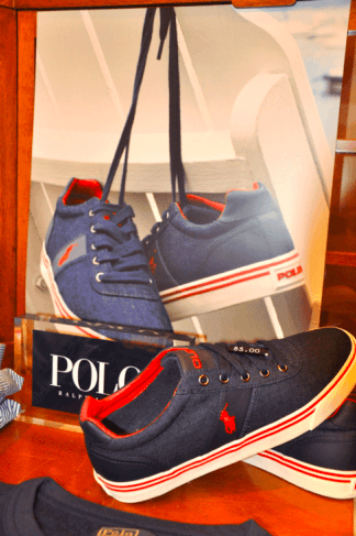 scarpe sportive blu